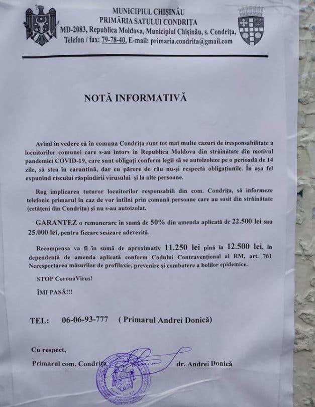 nota informativa
