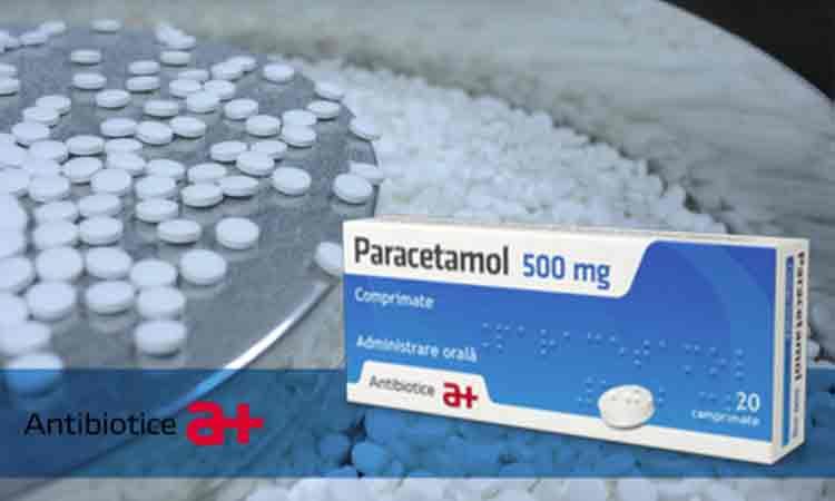 Vesti bune! Antibiotice Iasi reia productia de Paracetamol si Novocalmin® in regim de urgenta