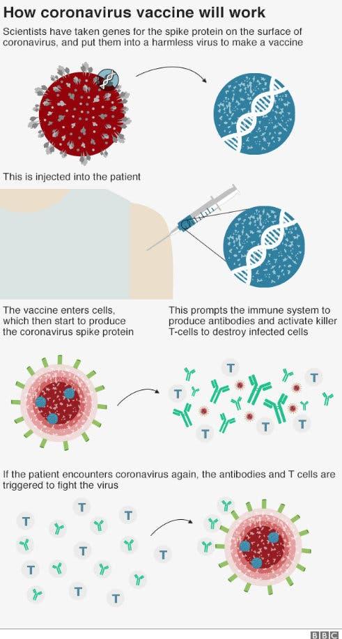 Test pentru vaccin