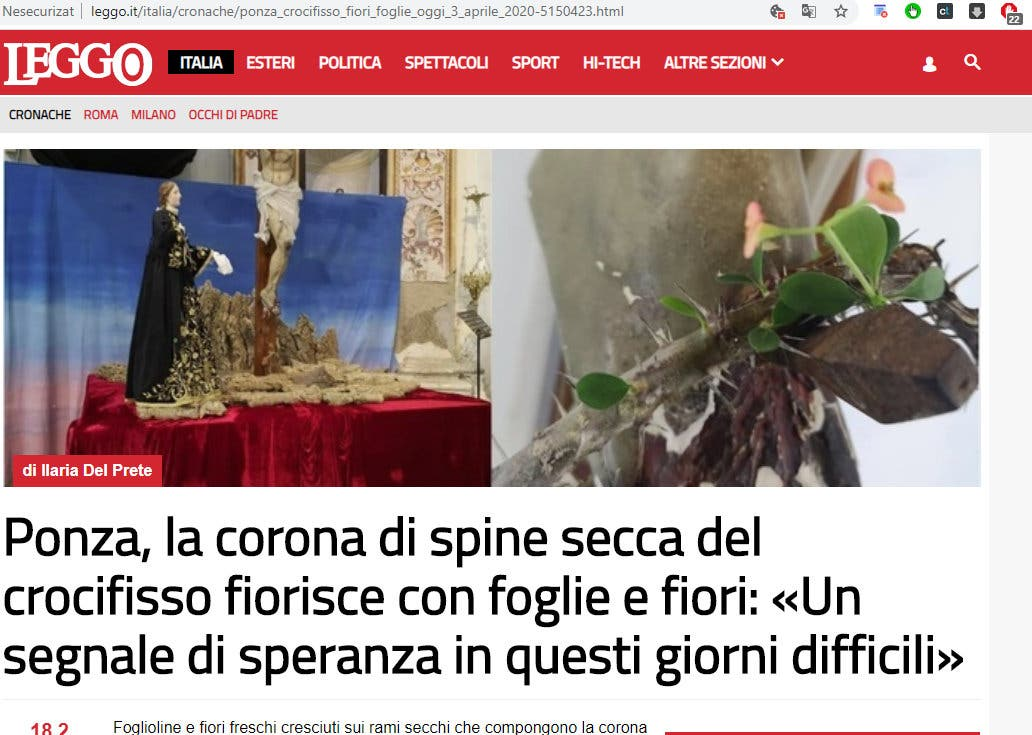 articolul din Italia