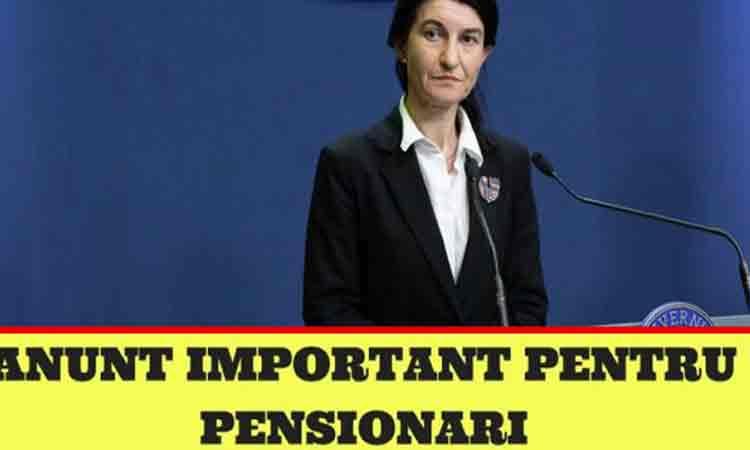 Veste buna! Se dau bani in plus la pensii. Anuntul ministrului Muncii