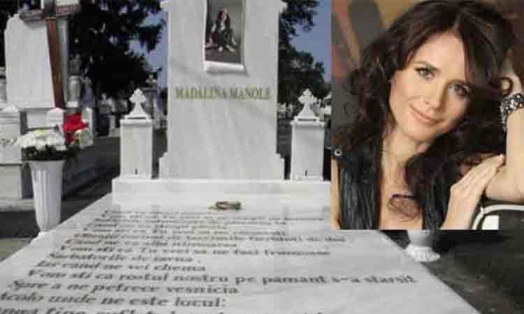Nimeni nu se astepta la asa ceva. Cine a aparut la mormantul Madalinei Manole, chiar la 9 ani de cand s-a stins.