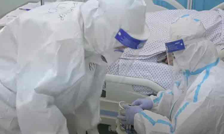 Dureros! Reportaj intr-un spital COVID din Romania: Nu mai au puterea sa mai argumenteze