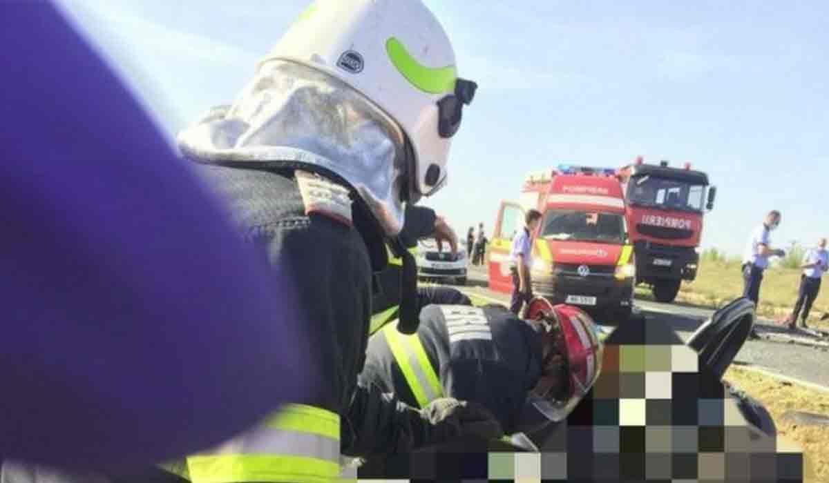 Accident grav pe DN2A. Din pacate, s-au stins pe loc