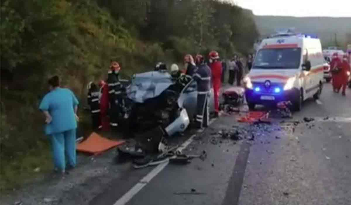 Accident grav la Cluj. O femeie si-a pierdut viata si alte 4 persoane se afla la spital