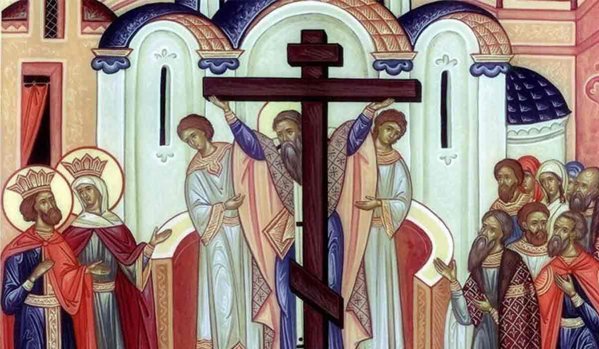 Calendar Ortodox, 14 septembrie. Inaltarea Sfintei Cruci. Post Negru
