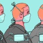 Cum se poarta corect masca de protectie