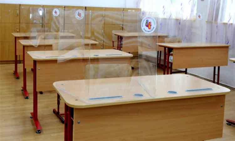 Toate scolile din orasul Bacau trec de luni in scenariul rosu