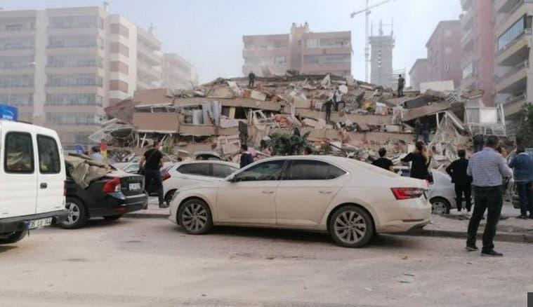 Imagini apocaliptice din Turcia si Grecia, dupa cutremurul devastator de 7 grade. 2