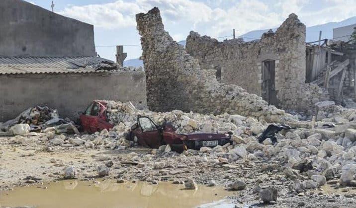 Imagini apocaliptice din Turcia si Grecia, dupa cutremurul devastator de 7 grade. 3
