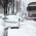 Romania, lovita de ninsori abundente. ANM anunta cod galben