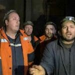 """Minerii blocati in subteran sunt disperati: """"Nu mai putem. Suntem cazuti la pamant"""""""