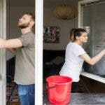 5 metode grozave ale bunicii pentru a curata perfect geamurile