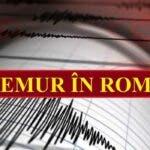 Cutremur neobisnuit in tara noastra. Unde s-a produs si ce magnitudine a avut.