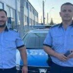Mihai si Dragos sunt cei doi politisti datorita carora o fetita de doi ani traieste.