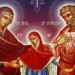Se spune pe 9 septembrie. Rugaciune catre Sfintii Parinti ai Maicii Domnului