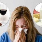 Alimente si bauturi care nu trebuie consumate sau baute in timpul bolii. Te impiedica sa te faci bine.
