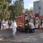Incendiu puternic la sectia ATI a Spitalului de Boli Infectioase din Constanta. Sunt mai multe persoane decedate